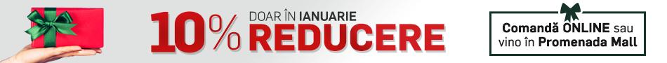 Din Ianuarie - 10% Reducere pentru orice cadou de pe iLUX.ro