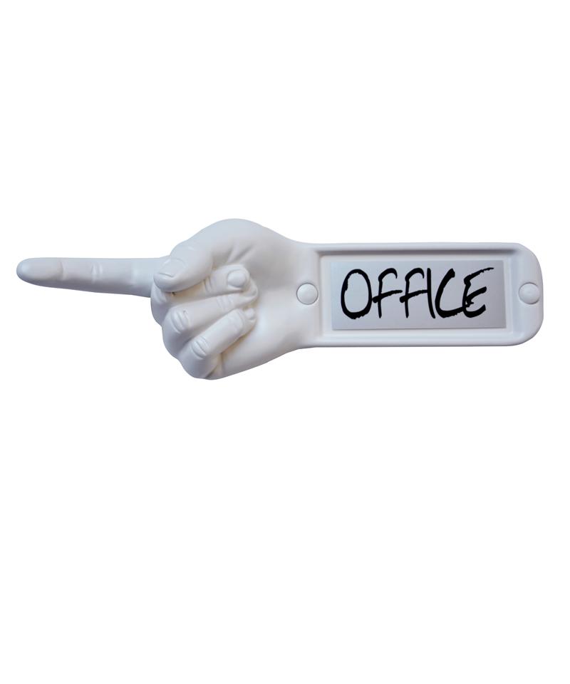 semn indicator birou