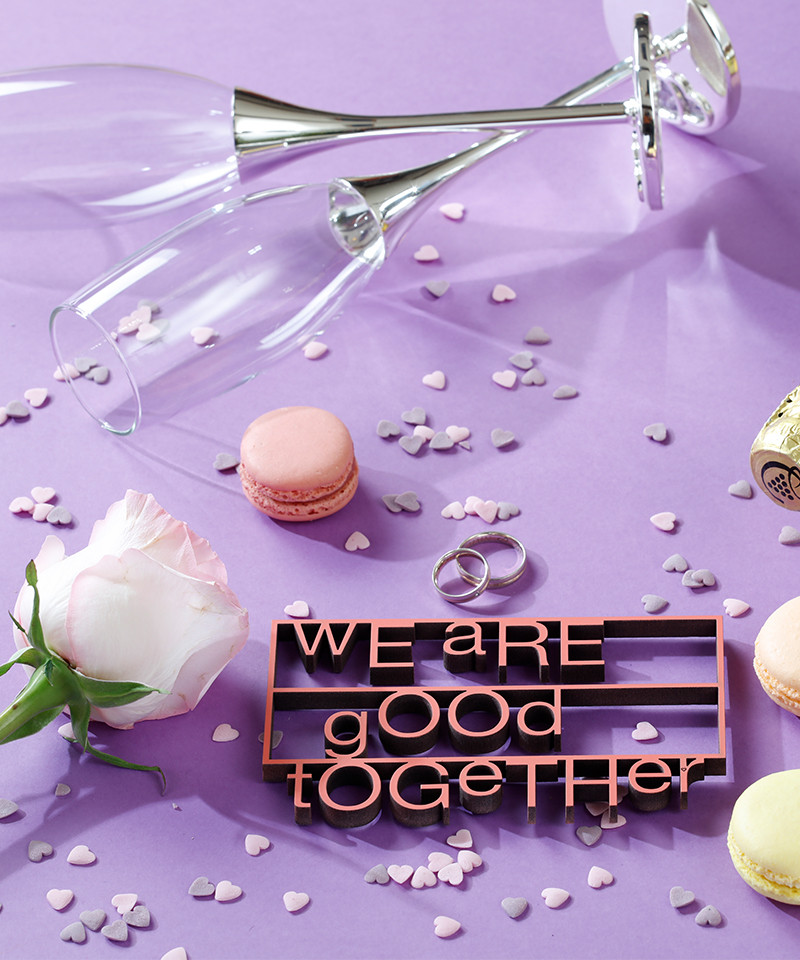 Mesaj decorativ - we are good together