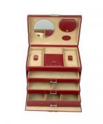 Caseta bijuterii Onix, din piele ecologica - WindRose