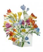 Felicitare 3D Flori