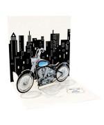 felicitare 3D motocicleta