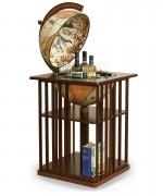 glob minibar cu biblioteca