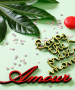 Mesaj decorativ - Amour