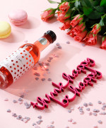 Mesaj decorativ -  think happy be happy