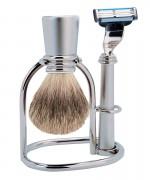 set barbierit otel inoxidabil