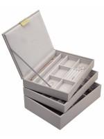 Stackers - Set 3 cutii bijuterii, Taupe