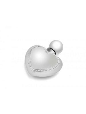 Atomizor parfum argintat, Inima