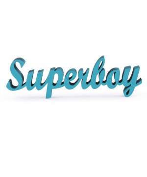 Mesaj decorativ - Superboy