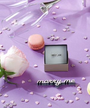 Mesaj decorativ - marry me