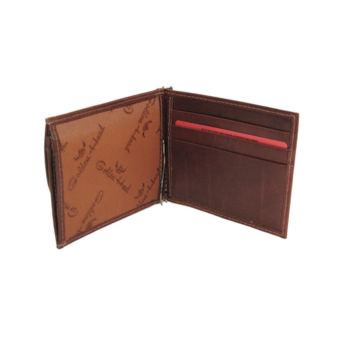 portofel piele cu clips
