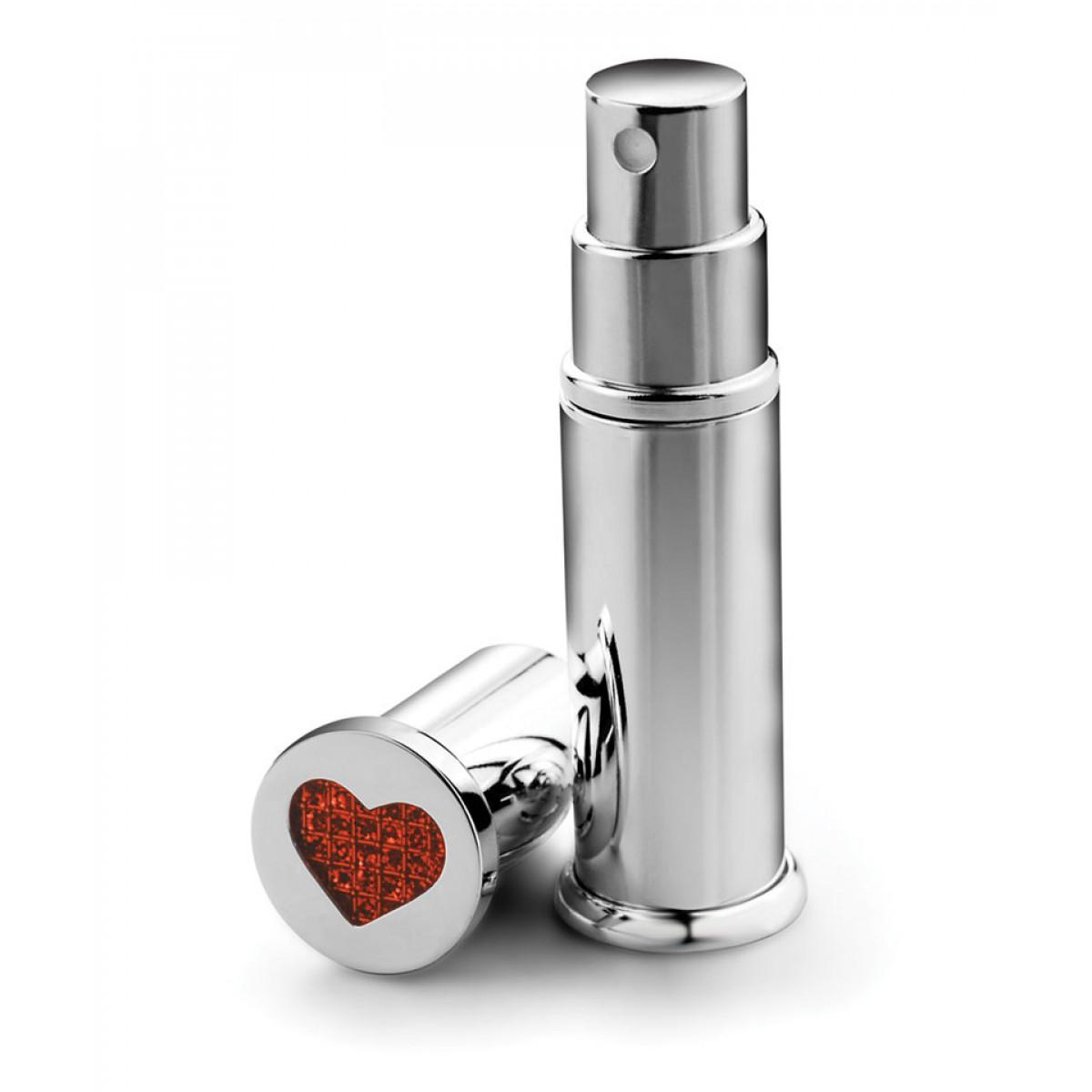 atomizator argintat parfum