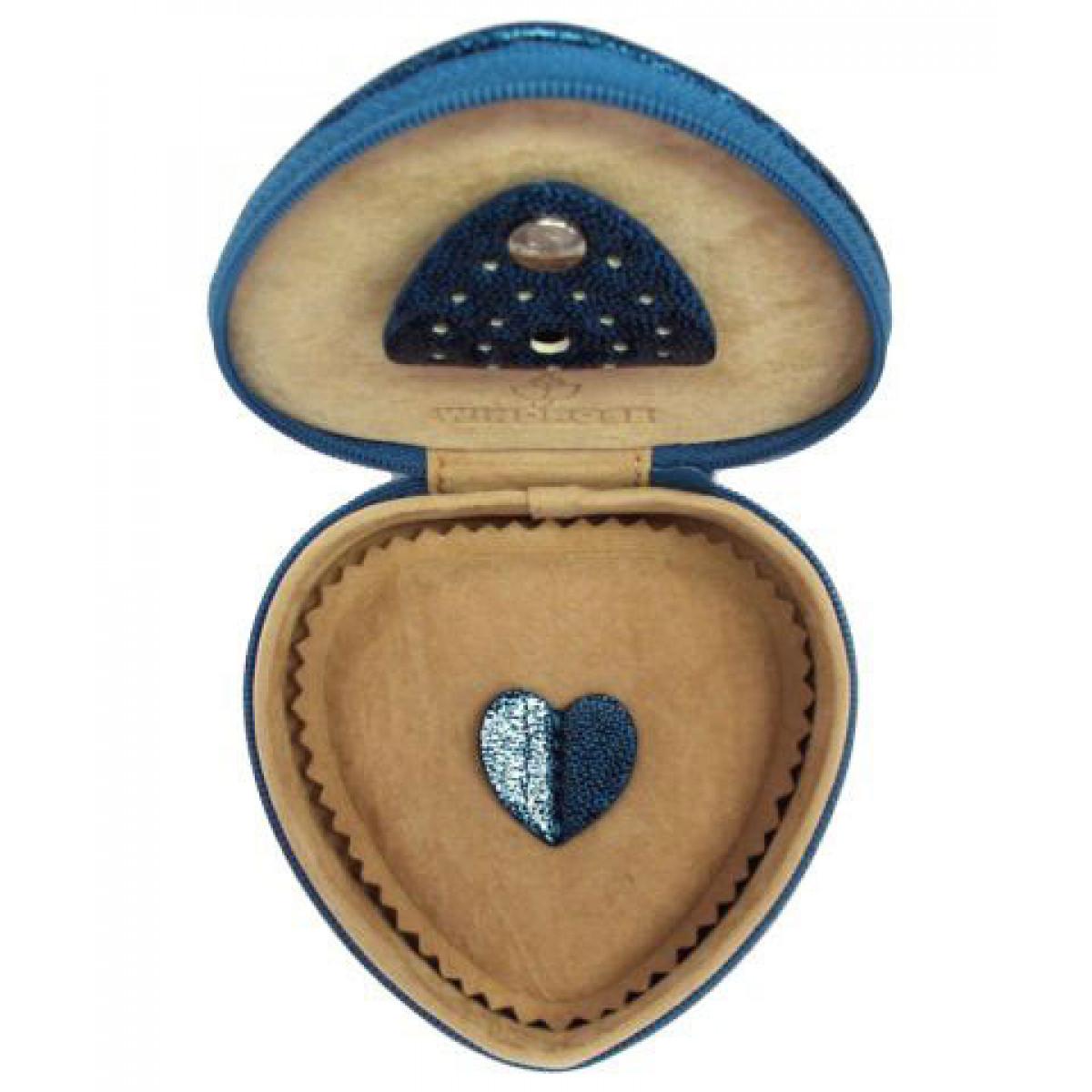 caseta pentru bijuterii inima