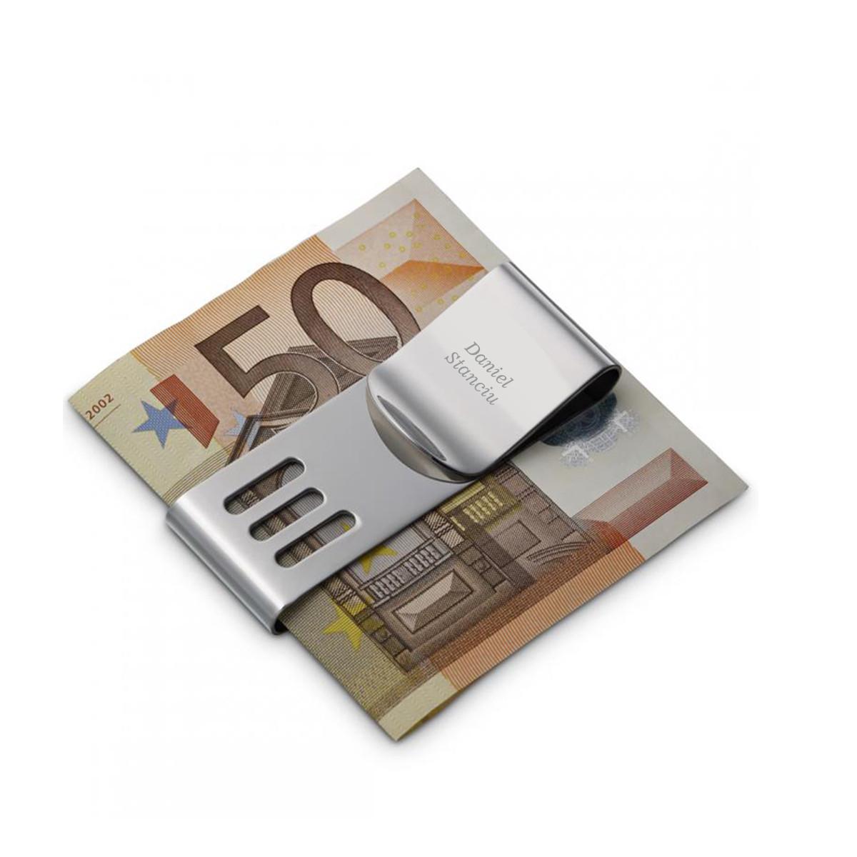 clips de bani personalizat