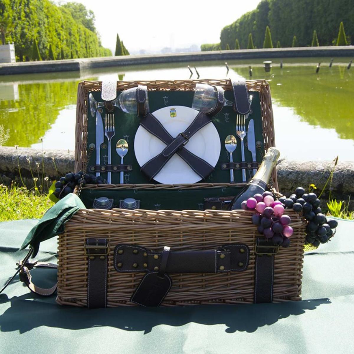 cos de picnic pentru 2 persoane