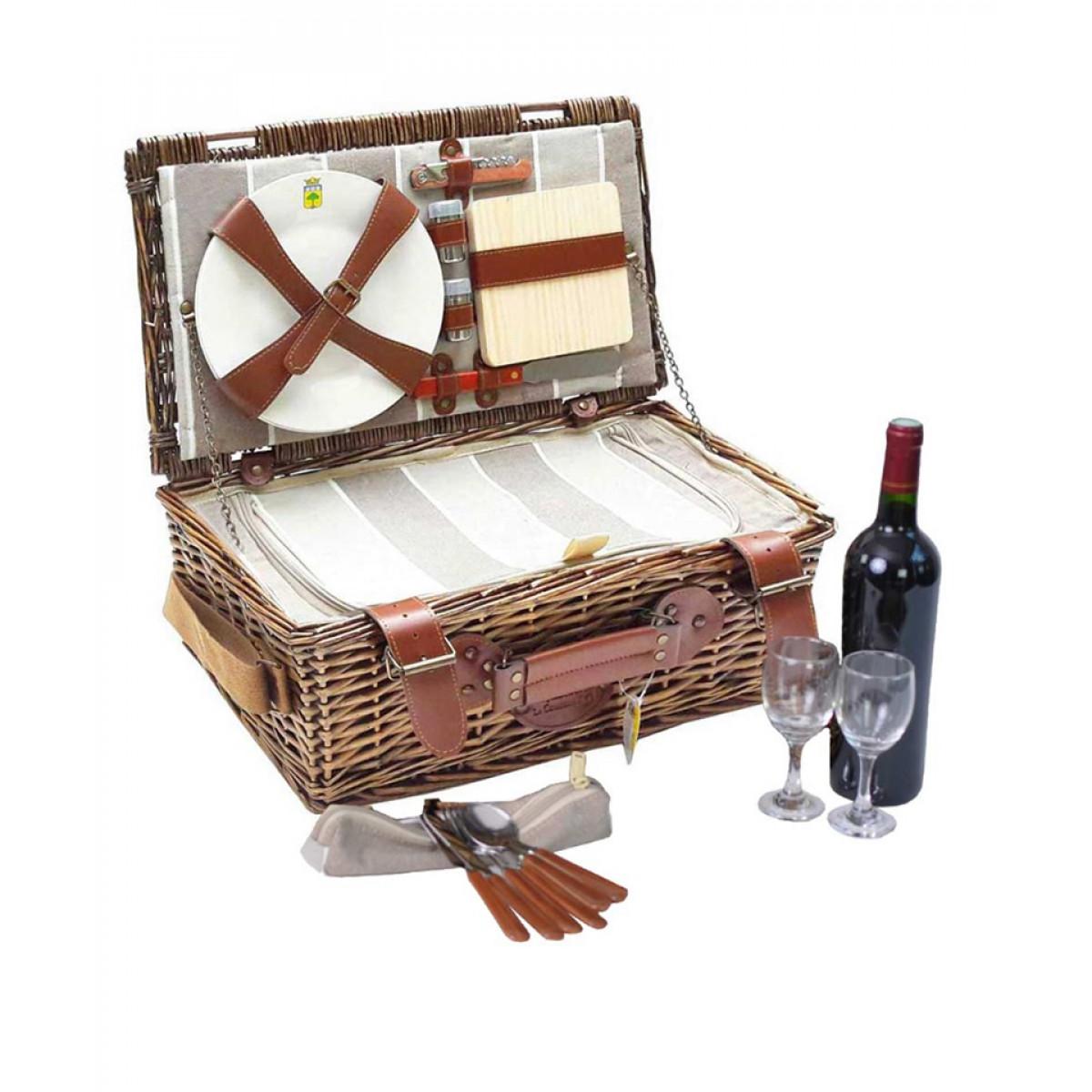 cos picnic pentru 2 persoane