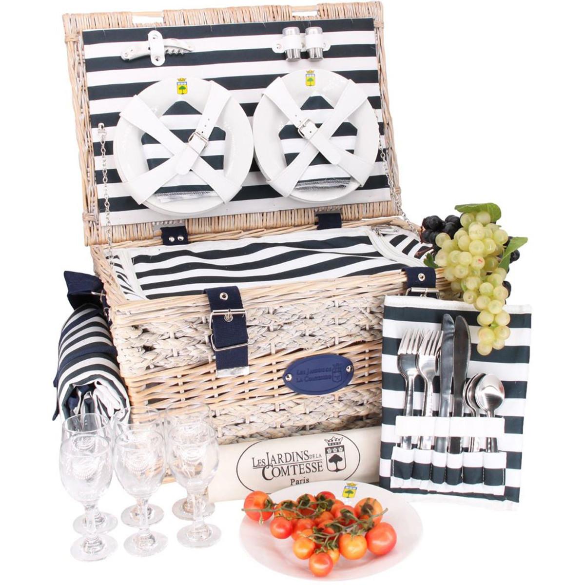 cos picnic 6 persoane
