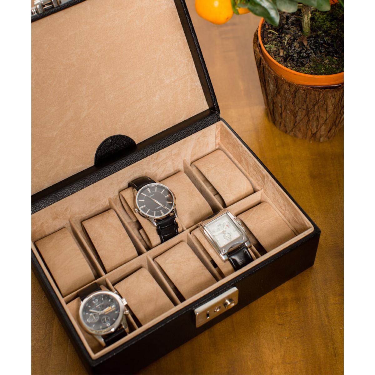cutie 10 ceasuri pentru barbati