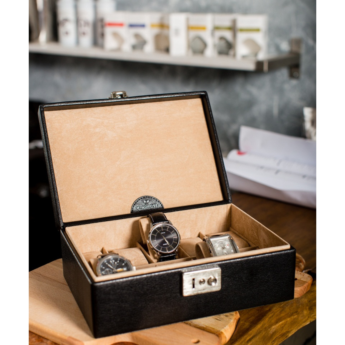 cutie ceasuri