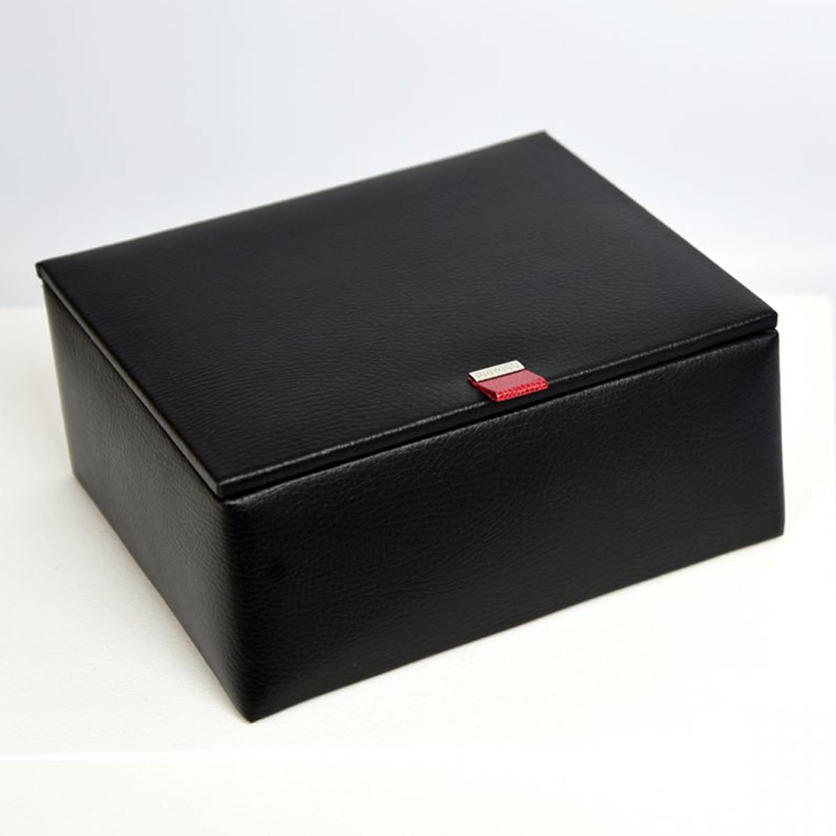 cutie ceasuri din piele