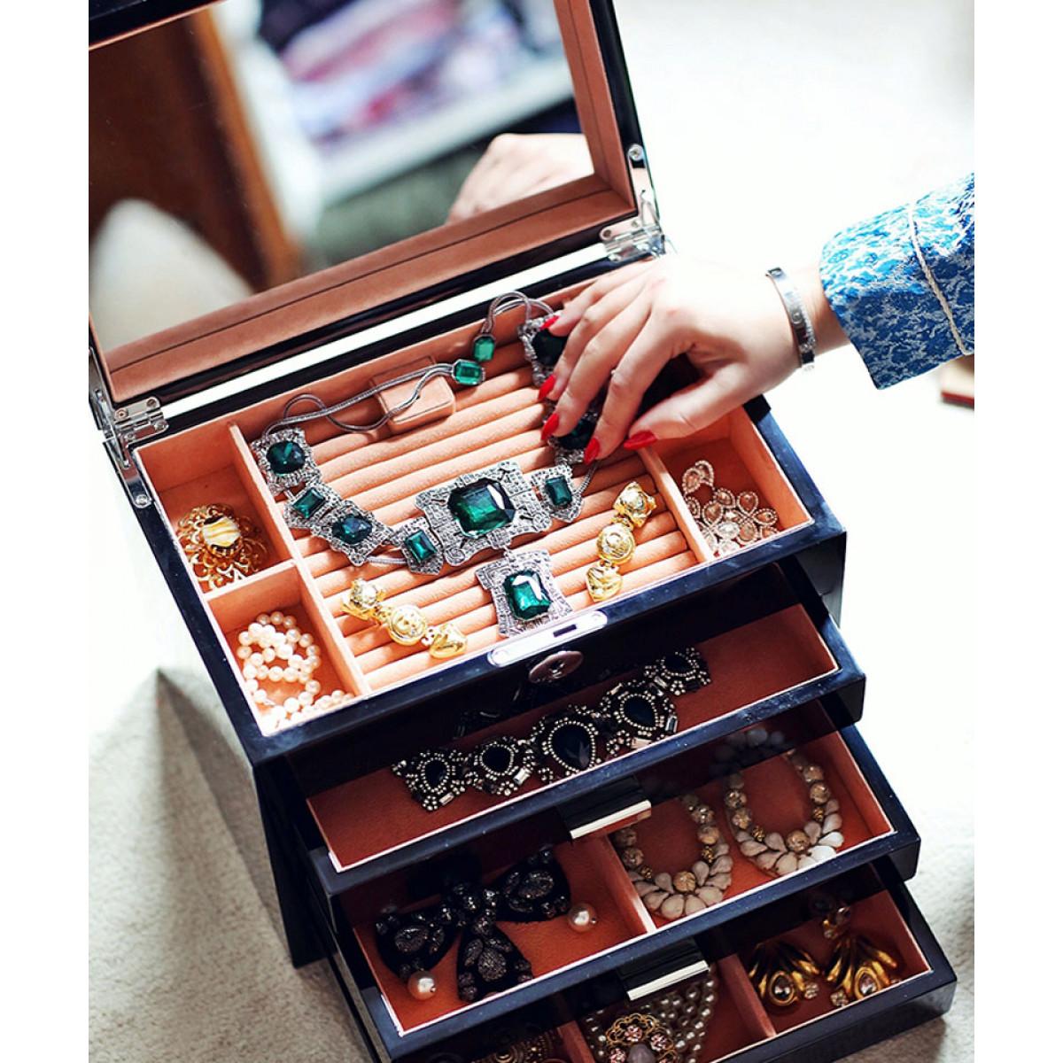 caseta bijuterii mare
