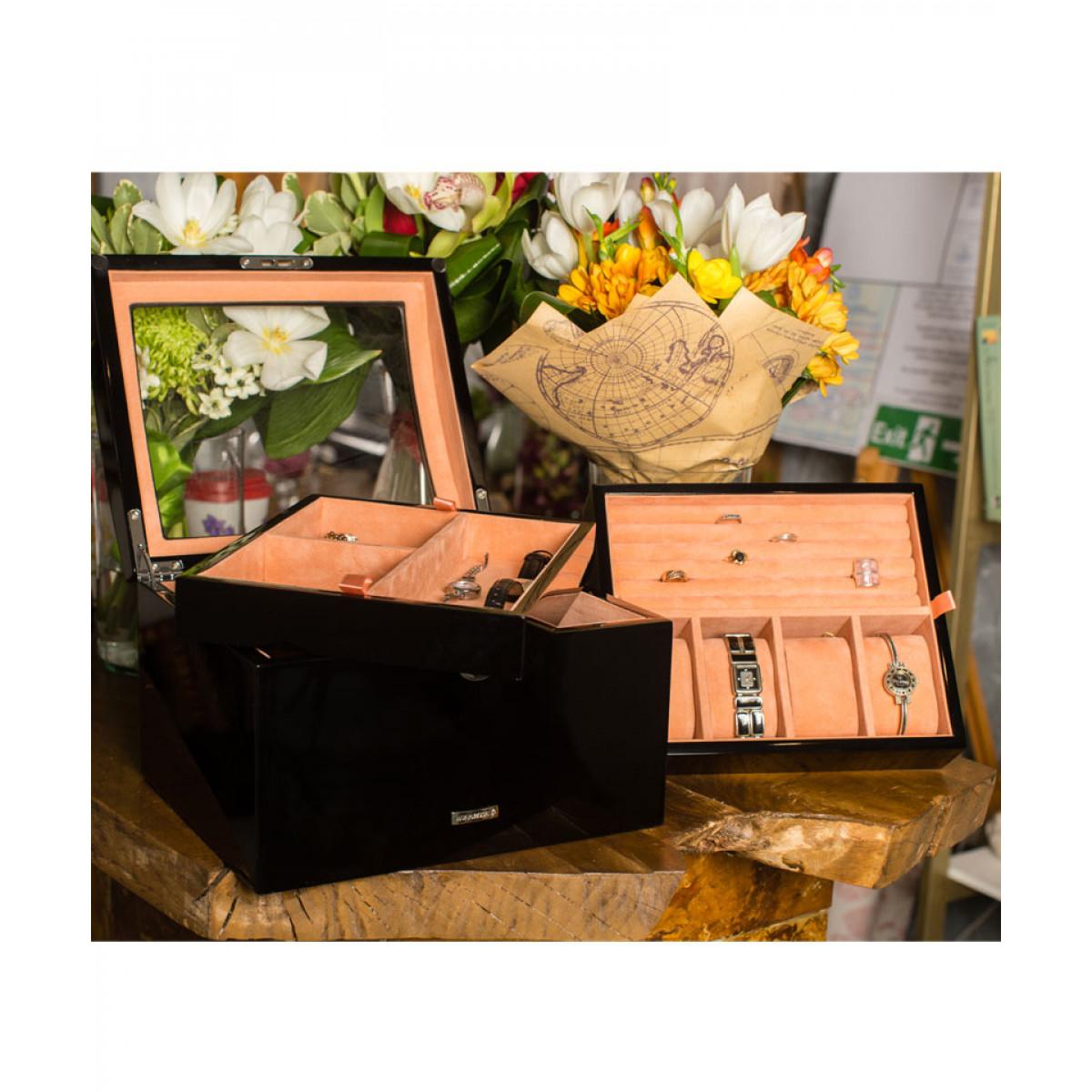 cutie bijuterii lemn