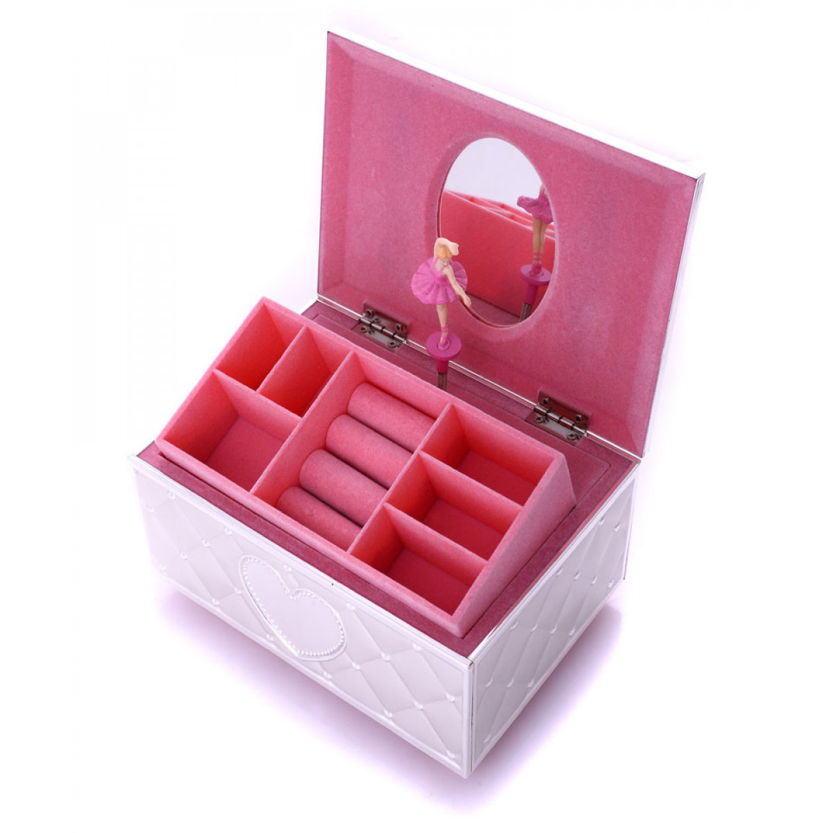 cutie de bijuterii cu balerina