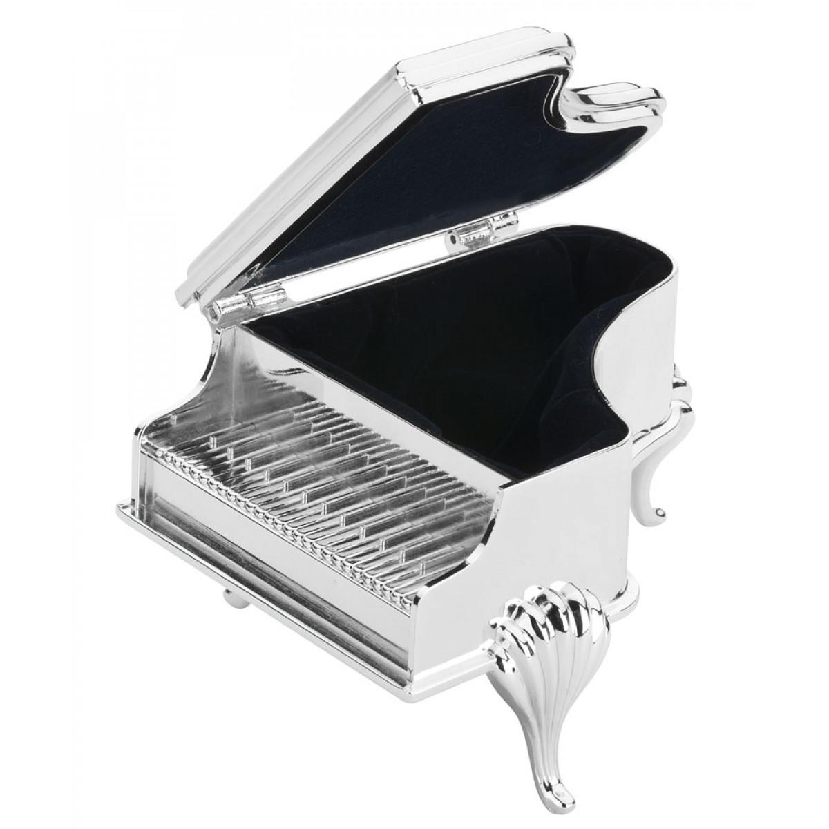 cutie muzicala si bijuterii pian