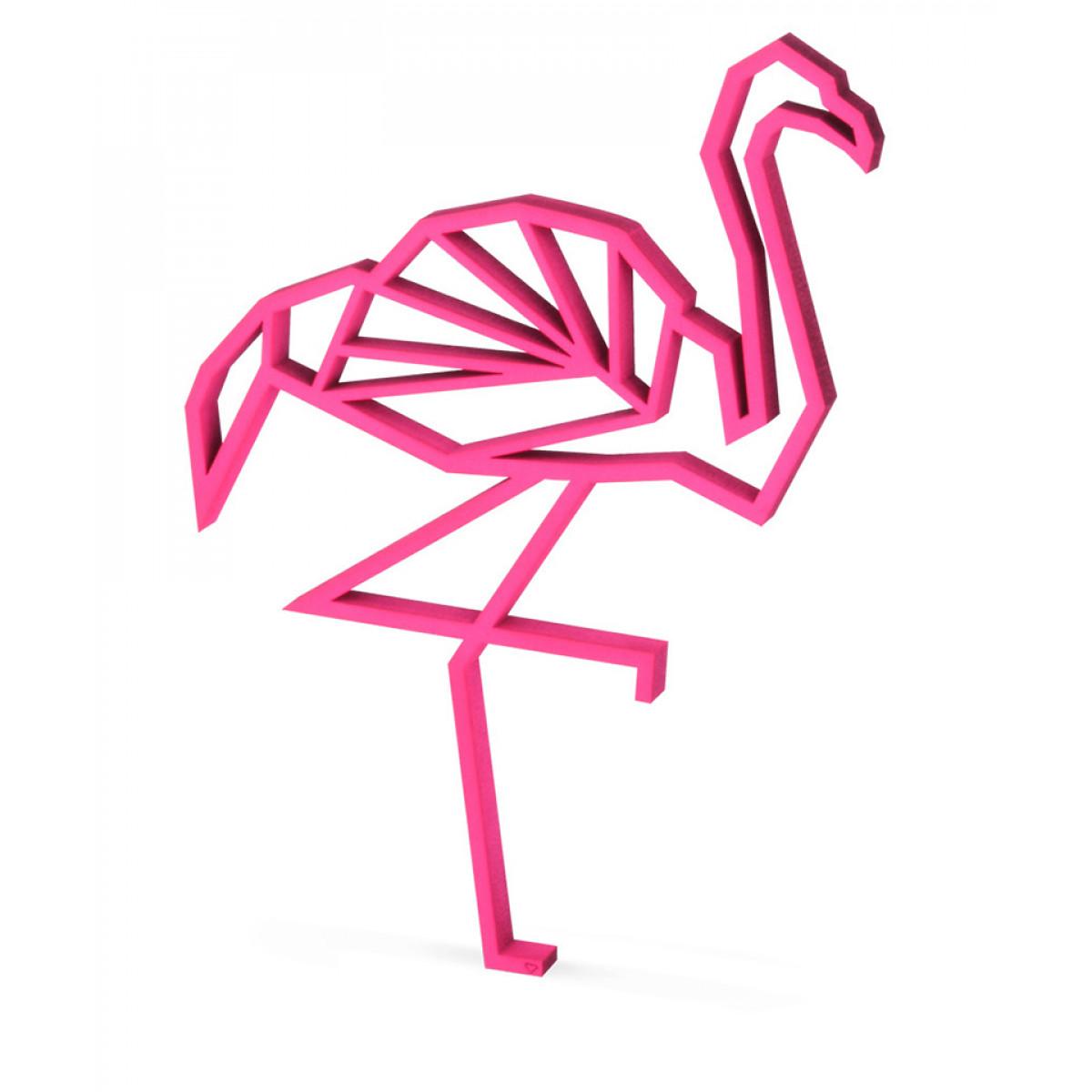 figurina decorativa flamingo