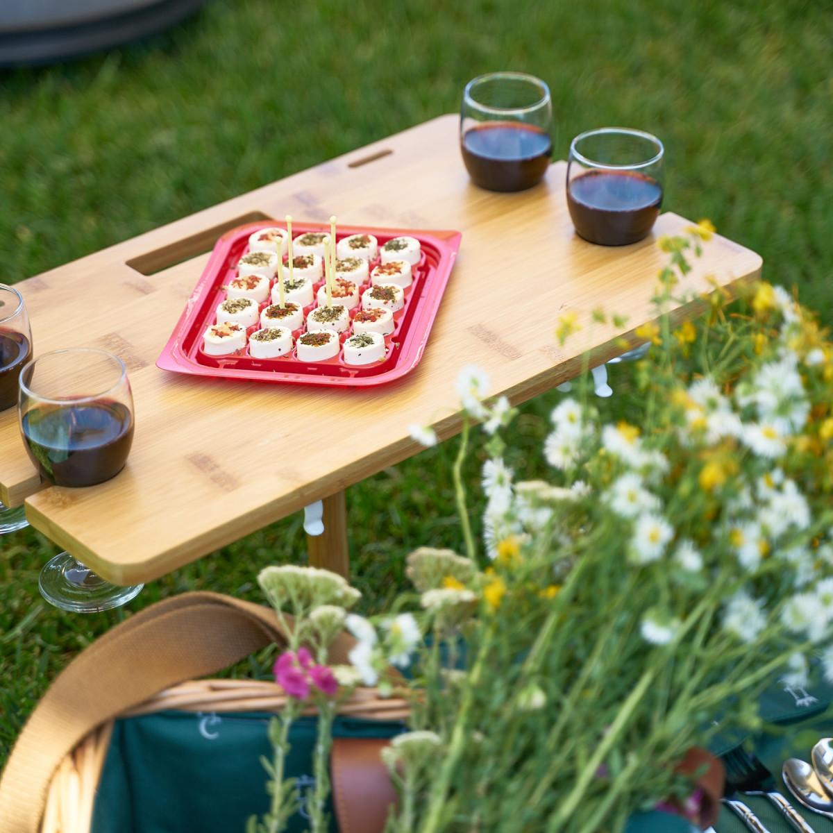 cosuri picnic cu masuta