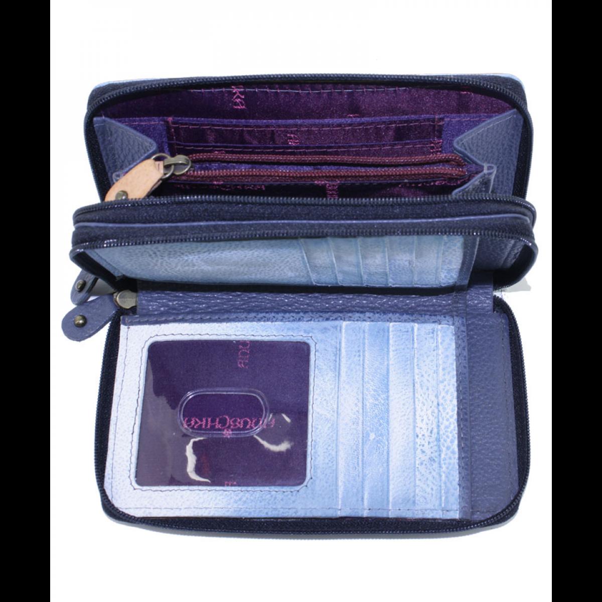 portofel dama handmade