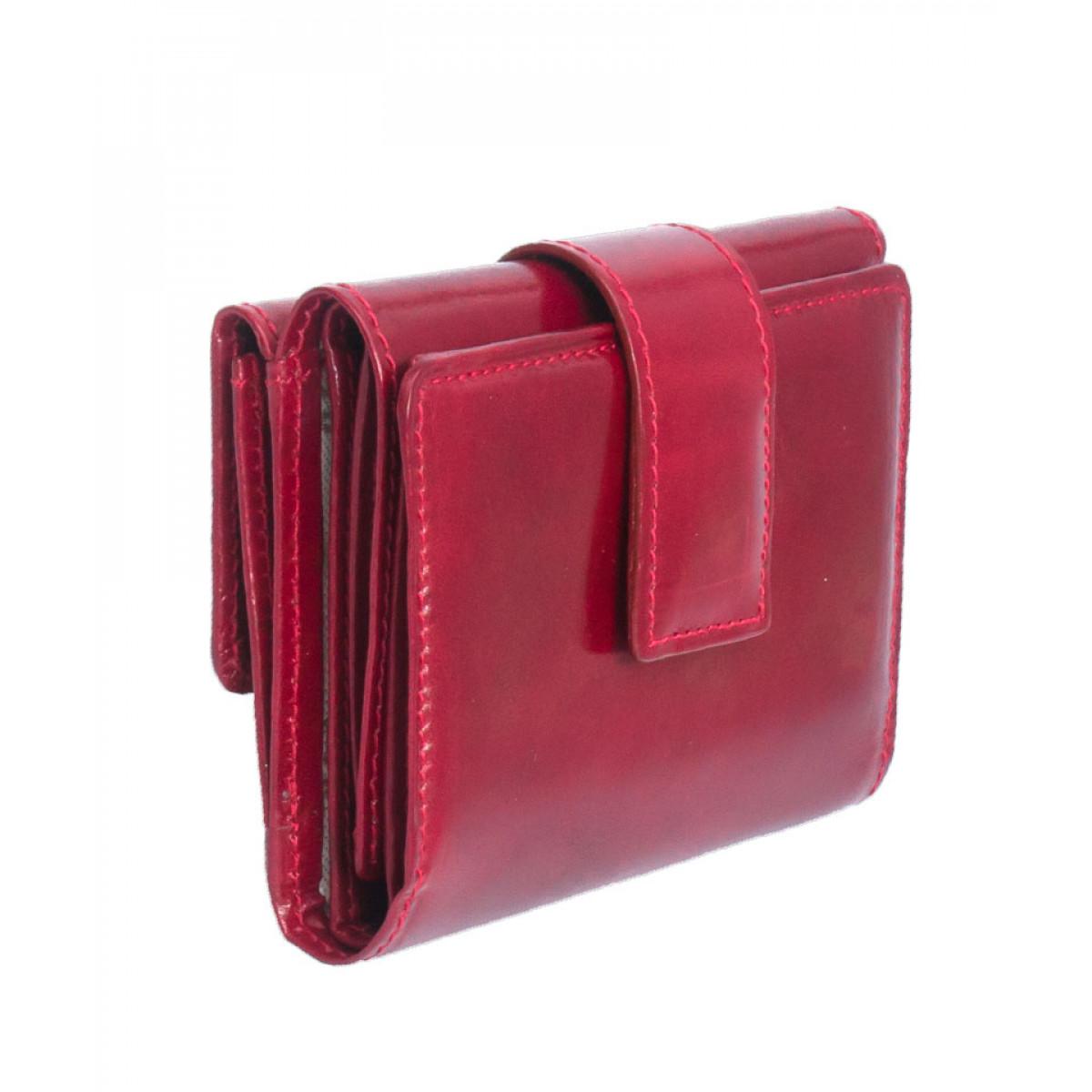 portofel dama piele rosu