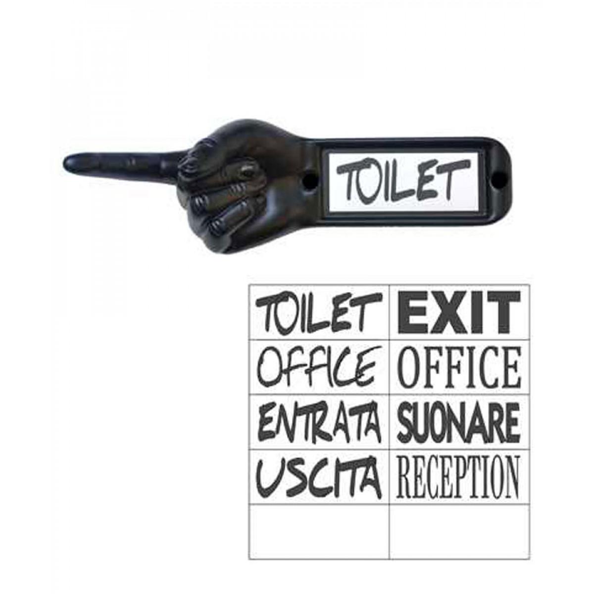 semn indicator toaleta