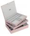Stackers – Set 3 MAXI cutii de bijuterii, Pink Cloud