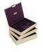 Stackers – Set 3 cutii bijuterii Light Lavender